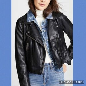 Blank NYC The Cool Kid Jacket Double layer Front